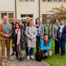 Trans-national meeting at BC Naklo in Strahinj, Slovenia.