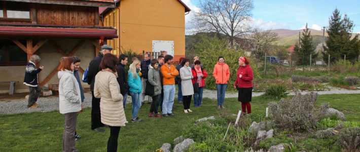 Testing mobility C8 in Družstevná pri Hornáde, SLovakia