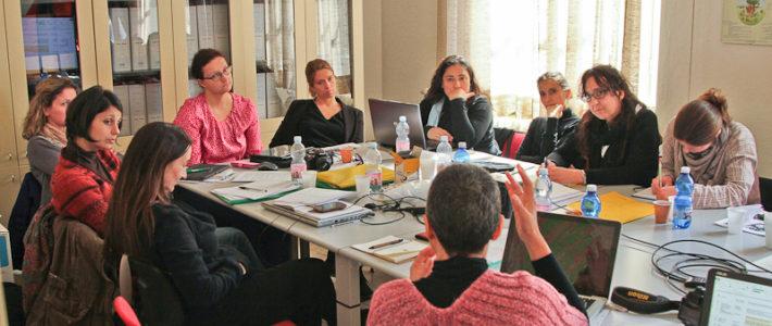 Trans-national meeting in Pisa