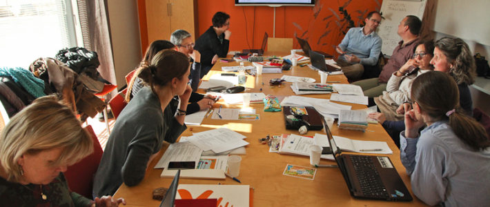 (English) Trans-national managerial project meeting, Valkeakoski, Finland