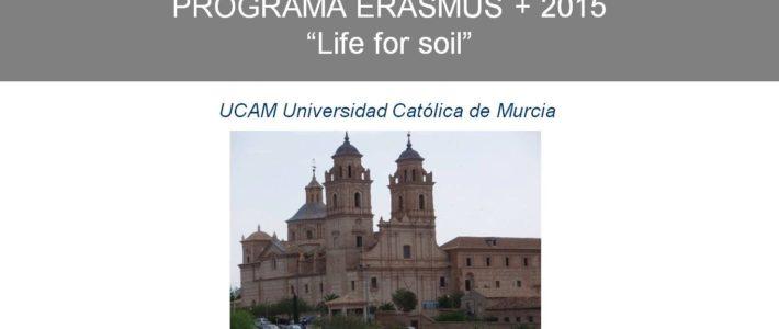 """""""Life for soil"""" UCAM"""